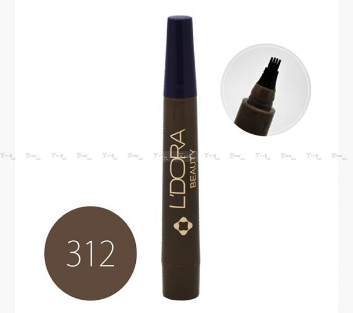 قلم هاشور کد 312 لدورا 4 گرمی-تصویر اصلی