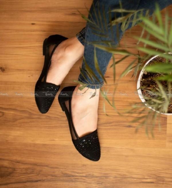 کفش مجلسی تخت زنانه-تصویر اصلی