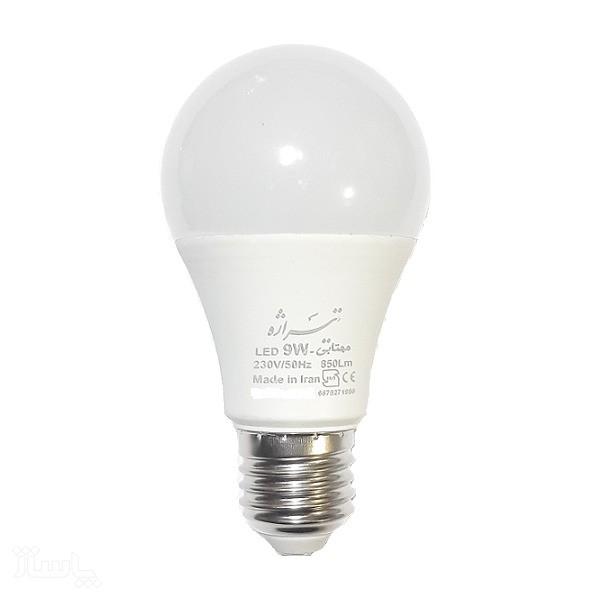 لامپ ۹ وات ال ای دی سفید تیراژه-تصویر اصلی