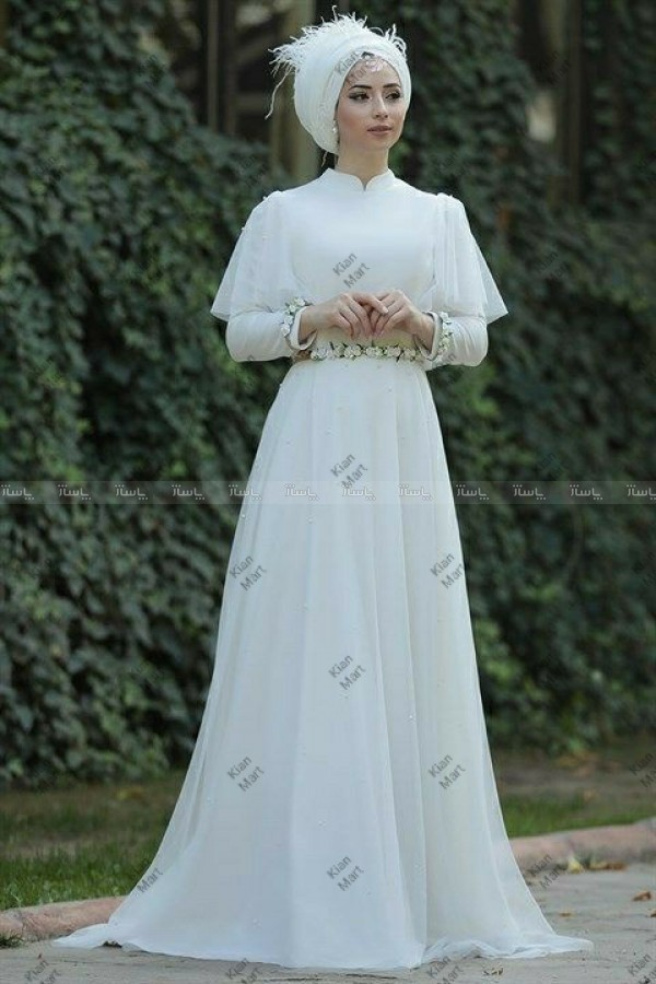 مانتو پیراهن عروس-تصویر اصلی
