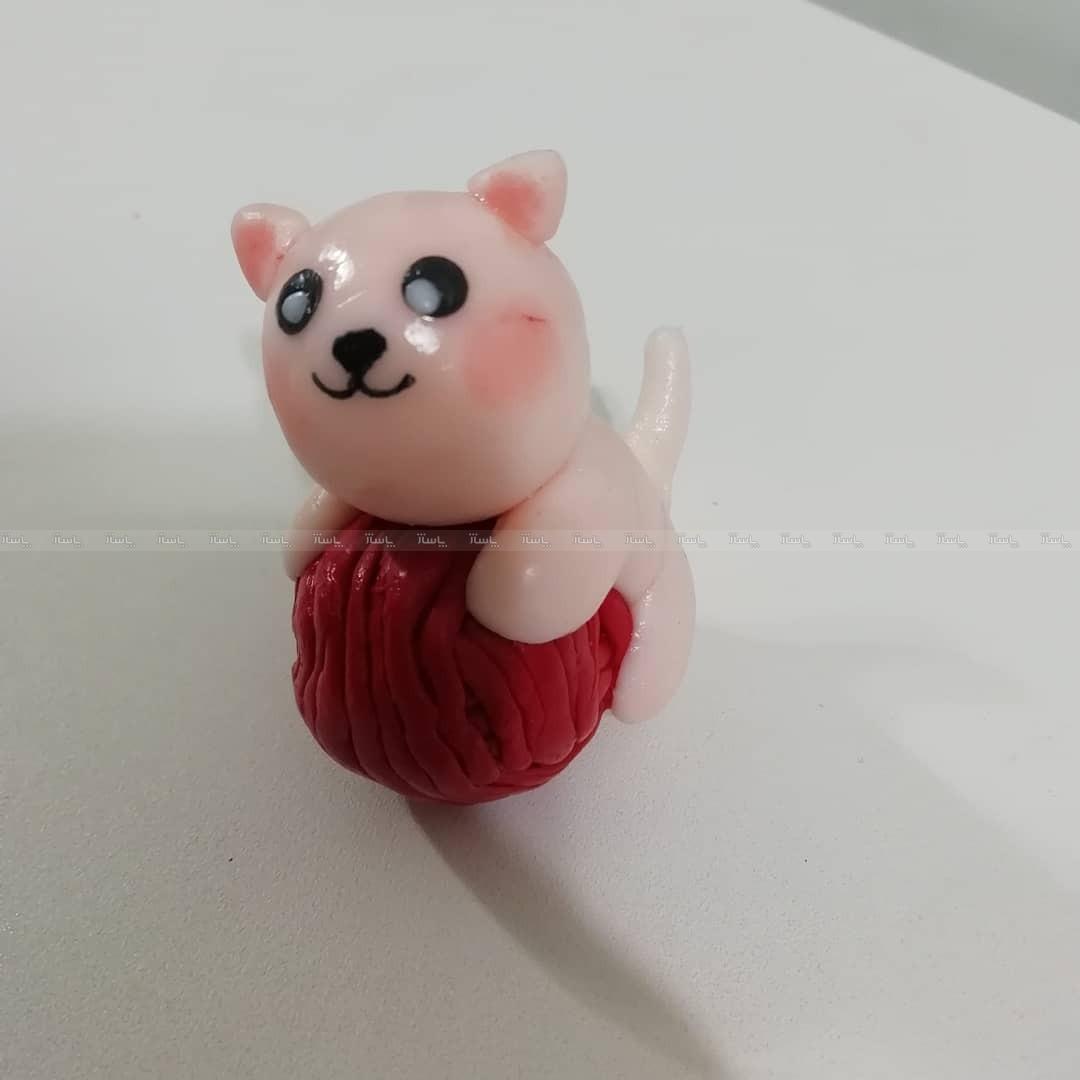 گربه مگنتی خمیر گلچینی-تصویر اصلی