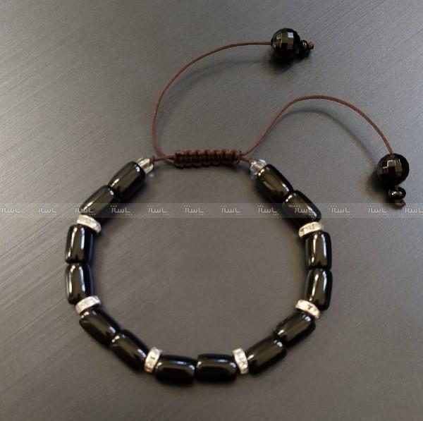 دستبنددستبند مهره براق-تصویر اصلی