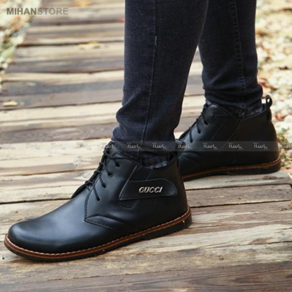 کفش چرم مردانه Gucci مدل Premium-تصویر اصلی