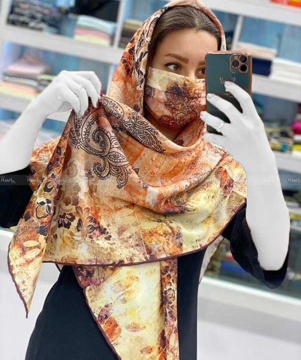 روسری با ماسک سنتی-تصویر اصلی