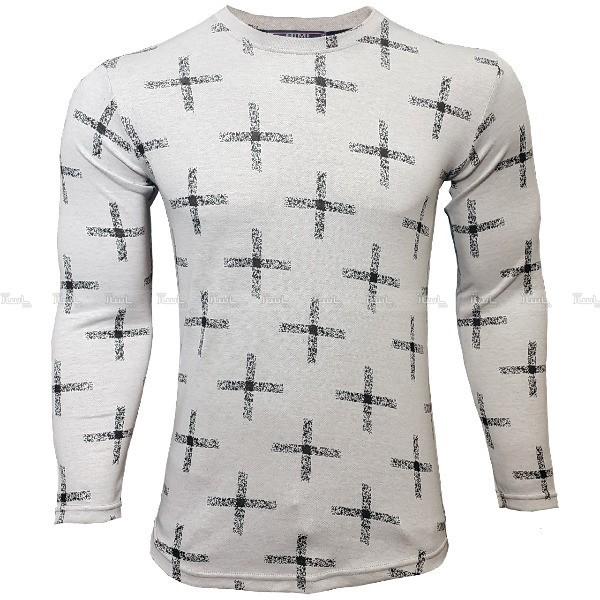 تی شرت مردانه آستین بلند پلاس تمام کش-تصویر اصلی