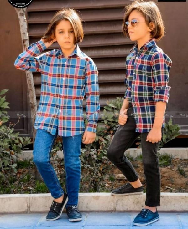 پیراهن کتان کش پسرانه-تصویر اصلی