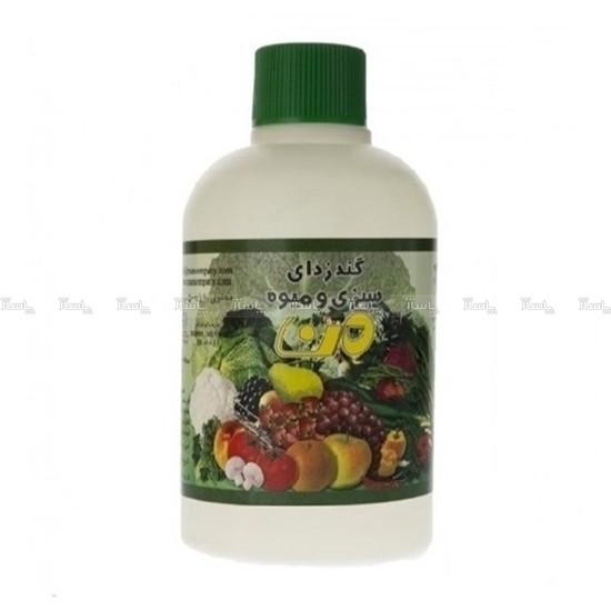 محلول ضدعفونی کننده میوه و سبزیجات من،اصل شرکتی-تصویر اصلی
