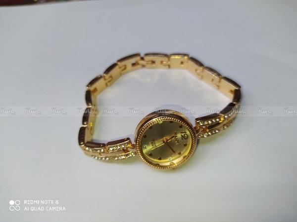 ساعت طلایی نگین دار-تصویر اصلی
