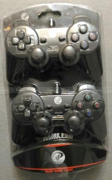دسته بازی Dual شوک مخصوص PC-تصویر اصلی