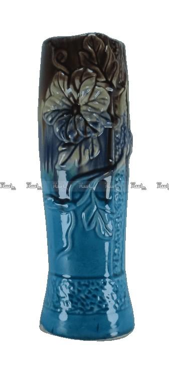 گلدان سرامیکی طرح کیهانی مدل برجسته-تصویر اصلی