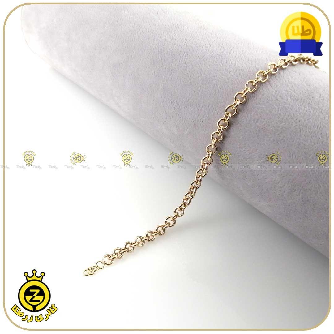 دستبند طلا زنجیری-تصویر اصلی