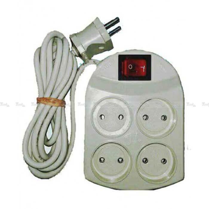 رابط برق 4 خانه کلید دار-تصویر اصلی
