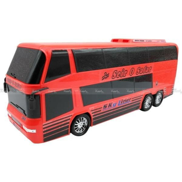 اتوبوس دوطبقه اسباب بازی دورج توی مدل Sky Liner-تصویر اصلی