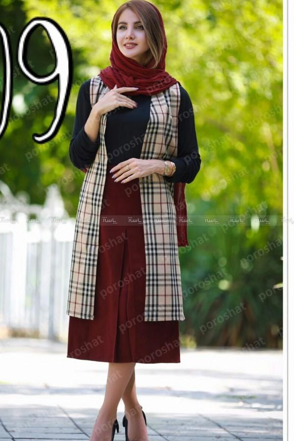 سارافن و دامن پشمی-تصویر اصلی