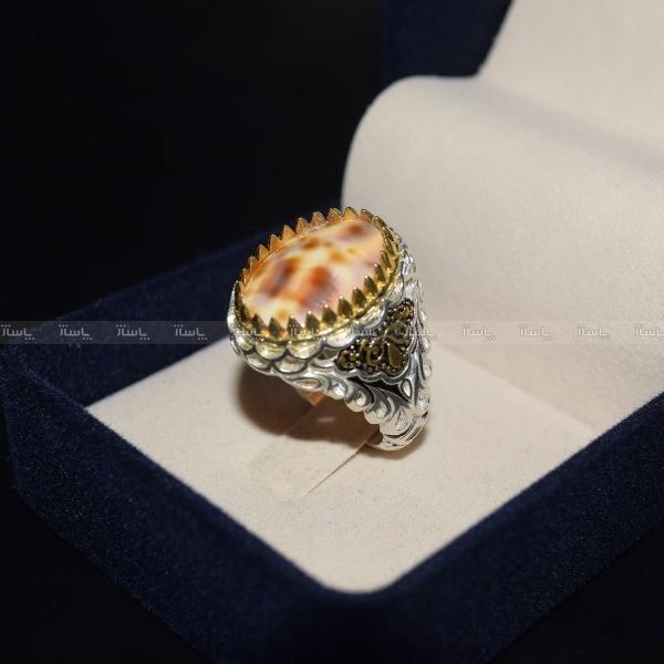 انگشتر صدفی نقره کلکسیونی-تصویر اصلی