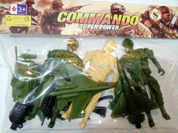 سرباز اسباب بازی همراه وسایل-تصویر اصلی