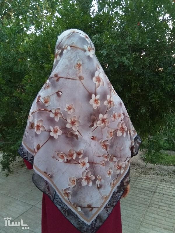 روسری حریر کرپ-تصویر اصلی