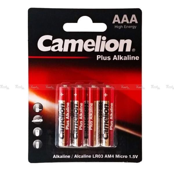 باتری نیم قلمی کملیون مدل Plus Alkaline بسته ۴ عددی-تصویر اصلی