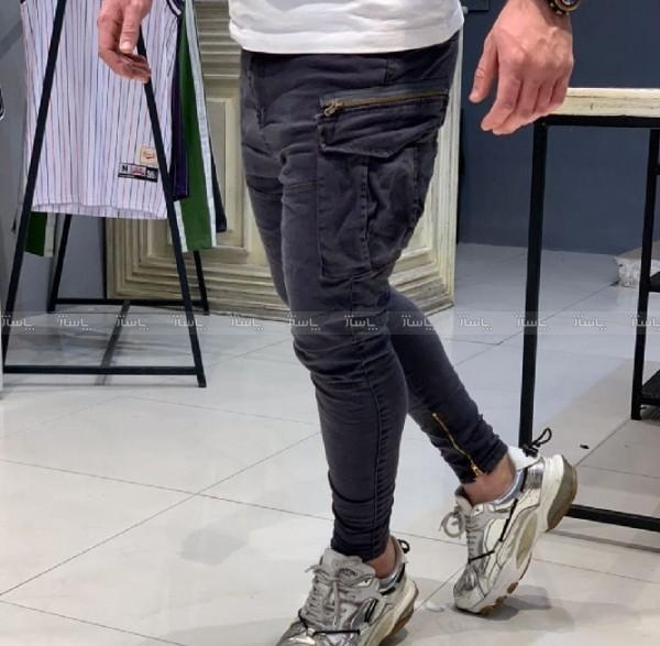 شلوار شش جیب دمپا زیپ-تصویر اصلی