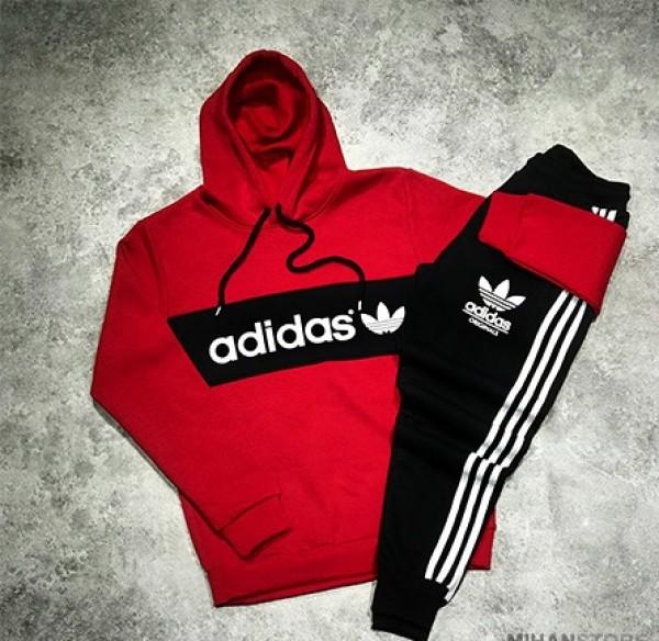 ست سوئیشرت و شلوار Adidas طرح Nigo :-تصویر اصلی
