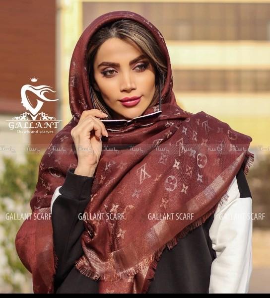 روسری هفت رنگ اورجینال طرح لویی-تصویر اصلی