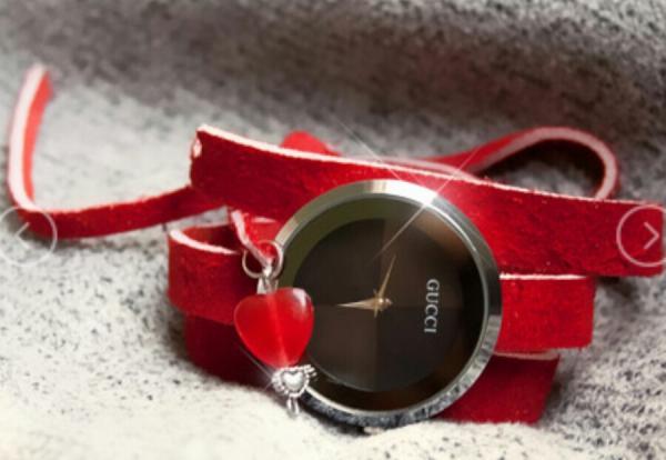 ساعت Gucci طرح Love-تصویر اصلی