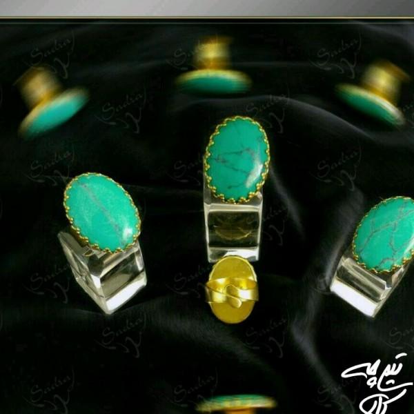 انگشتر سنگ فیروزه-تصویر اصلی