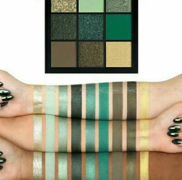 پالت سایه هدی بیوتی رنگ سبز