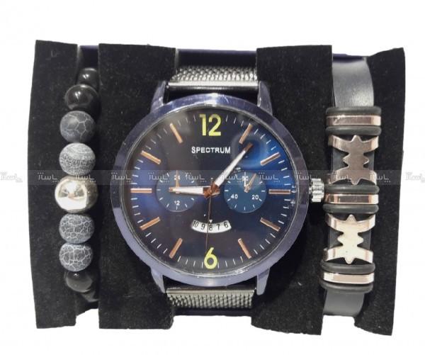 ست دستبند و ساعت مردانه-تصویر اصلی