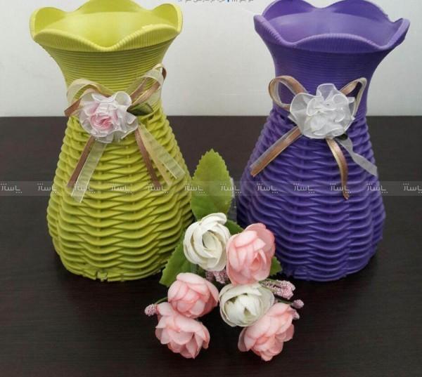 گلدان حصیری تزئینی-تصویر اصلی
