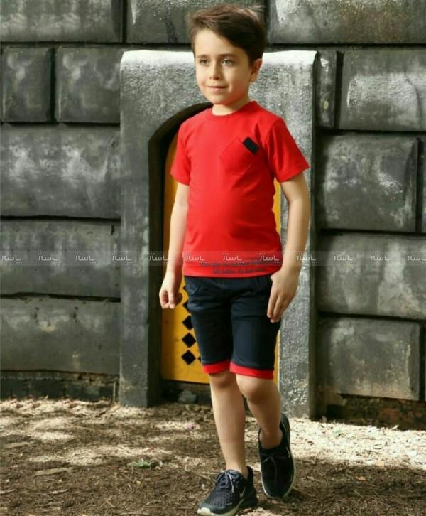 تیشرت شلوارک پسرانع-تصویر اصلی