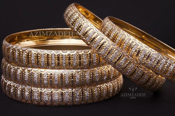 النگو طرح طلای نقره-تصویر اصلی