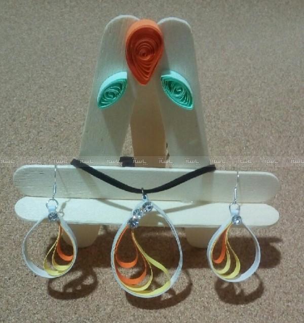 نیم ست گوشواره گردنبند-تصویر اصلی