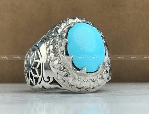 انگشتر فیروزه نیشابور اصلی-تصویر اصلی