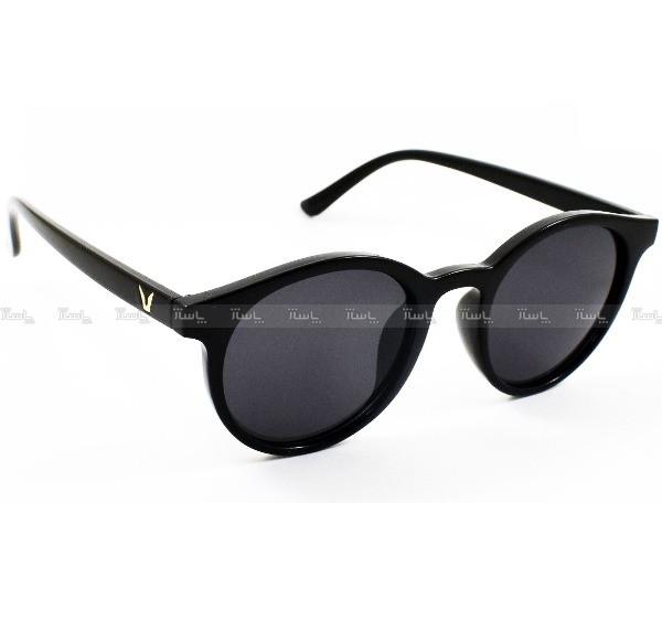 عینک آفتابی مردانه مدل Round2020 + کیف محافظ و دستمال-تصویر اصلی