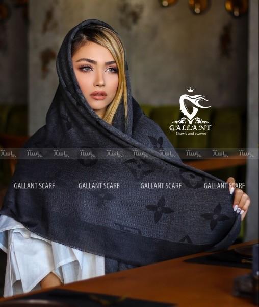 روسری ملانژ طرح لویی ویلتون-تصویر اصلی