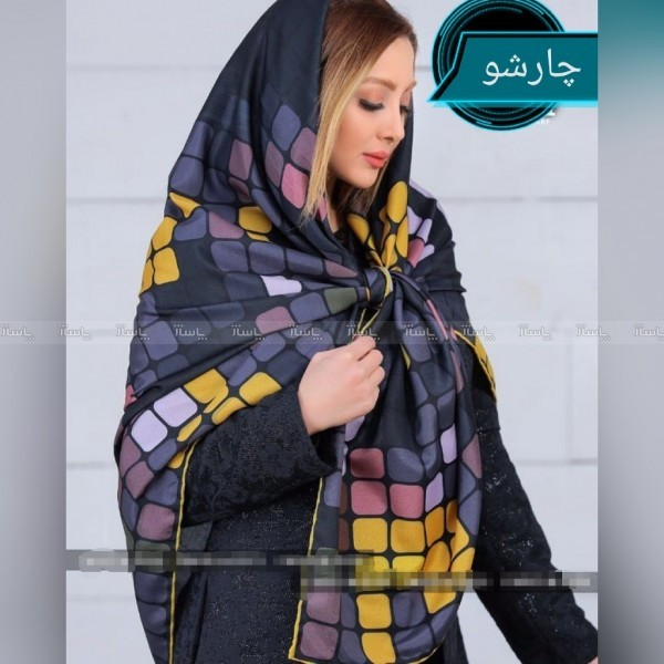 روسری نخی دور دست دوز برند cici ارسال رایگان-تصویر اصلی
