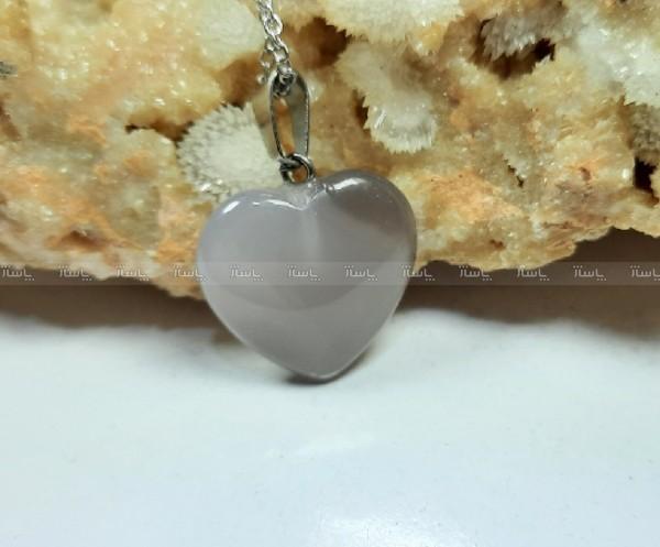 گردنبند عقیق تراش قلب، ولنتاین m331-تصویر اصلی