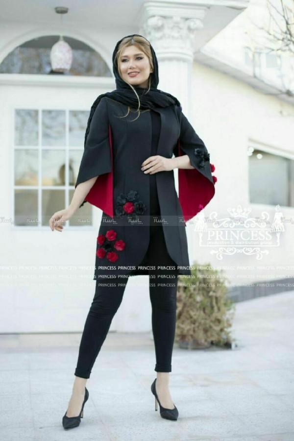 مانتو بهاره مدل شکوفه-تصویر اصلی