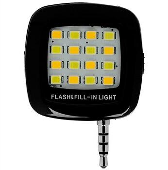 Portable Mini 16 LEDs Flash And Fill Light-تصویر اصلی