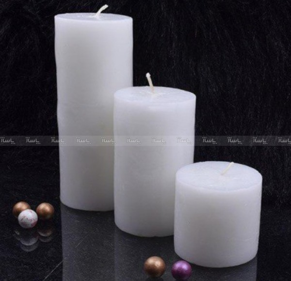 ست شمع استوانه ایی شهرزاد-تصویر اصلی