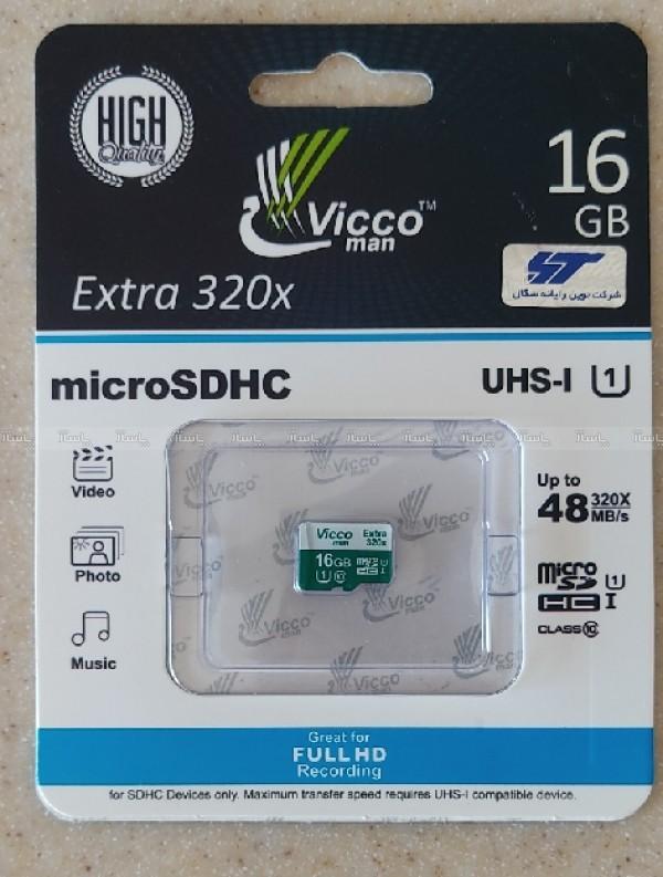 کارت حافظه Vicco MICROSD U1 16G