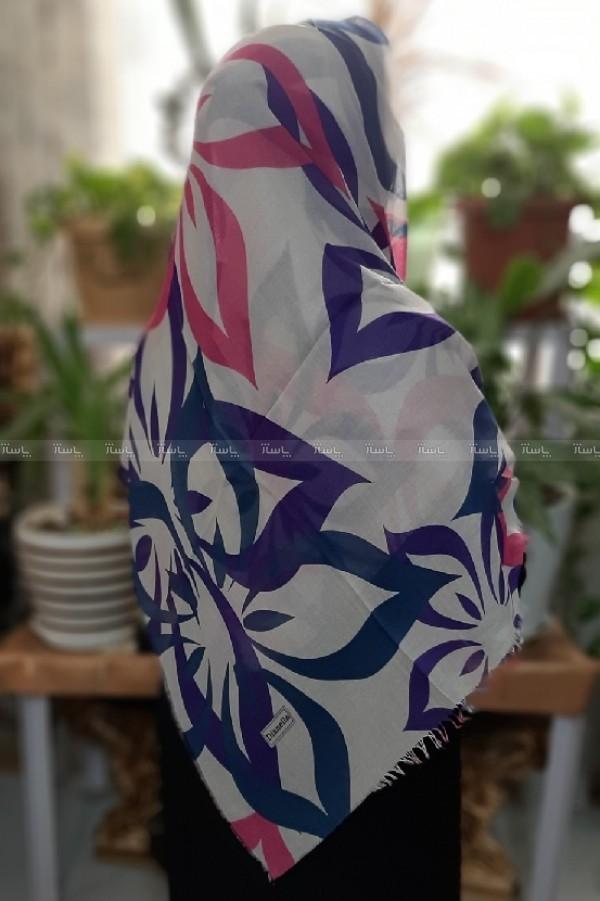 روسری نخی گل رنگی-تصویر اصلی