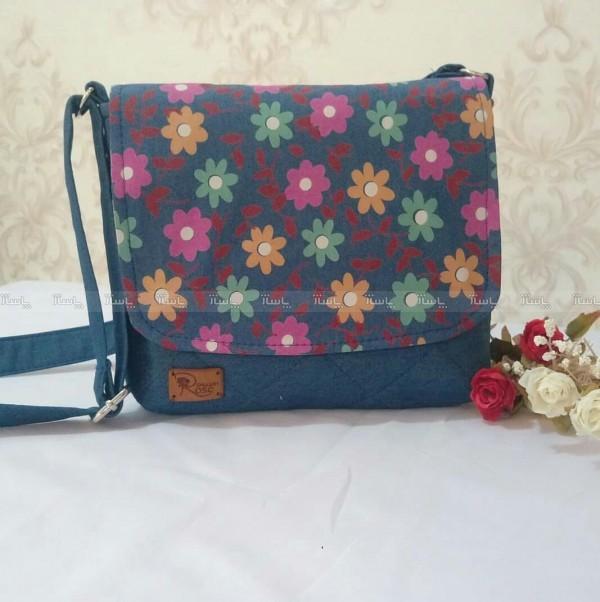 کیف دوشی دخترانه طرح شکوفه-تصویر اصلی