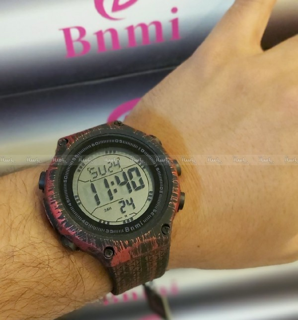 ساعت مچی دیجیتال مردانه برند BNMI-تصویر اصلی