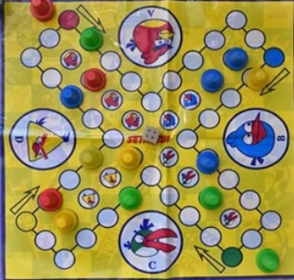 بازی منچ و مار سفره ایی-تصویر اصلی