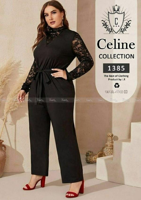 لباس اورال سایز بزرگ Celine-تصویر اصلی