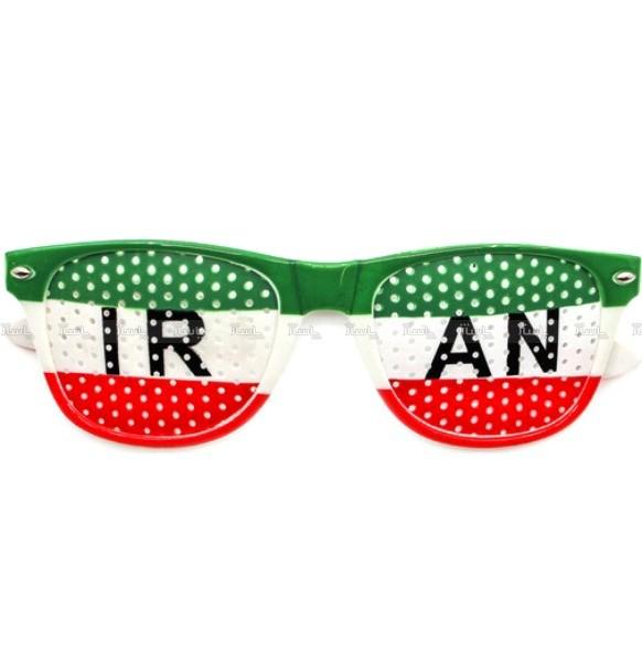 عینک طرفداری تیم ملی ایران مدل پرچم-تصویر اصلی