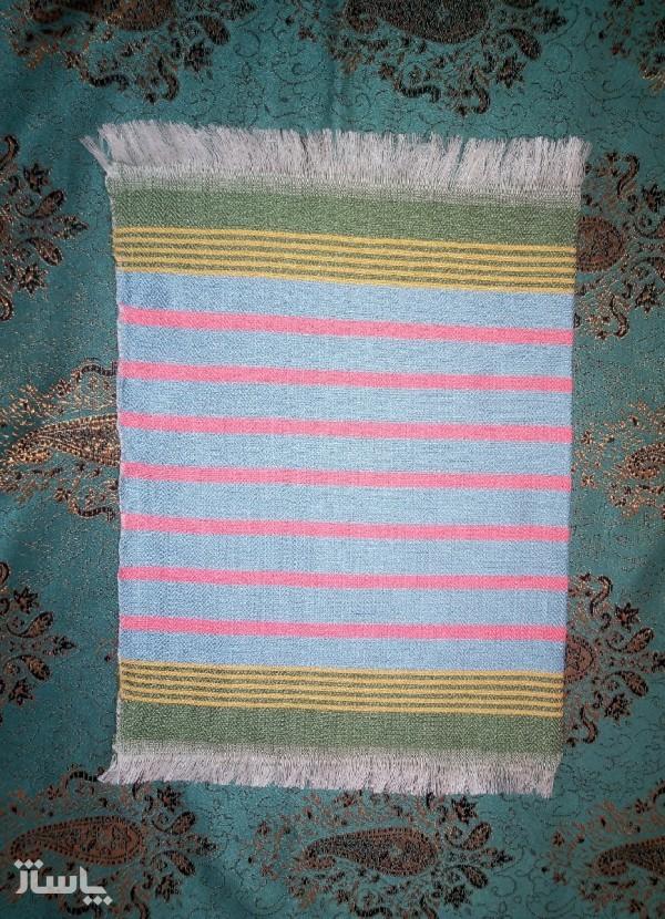 پک دو عددی دستمال جیبی دستباف-تصویر اصلی