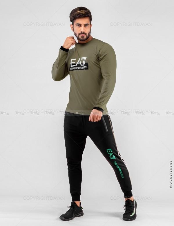 ست بلوز و شلوار مردانه EA7 م-تصویر اصلی